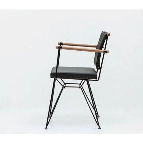 Метален стол Ретро